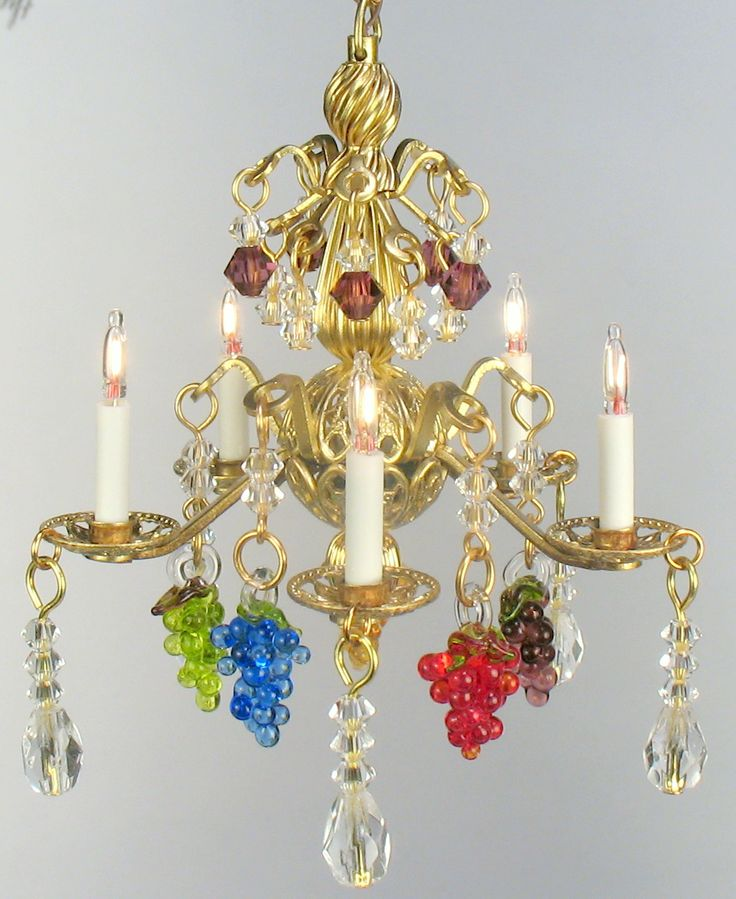 Dollhouse Chandelier Tutorial: 15 Best Miniature Chandeliers Images On Pinterest