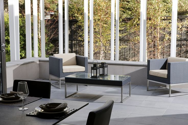 It may be winter but it's never too early to start preparing for spring.  Visit our website for some room ideas for your backyard.  Our Basalt Blue Moon Sawn 15mm is used in the picture below!    http://qoo.ly/fewyz