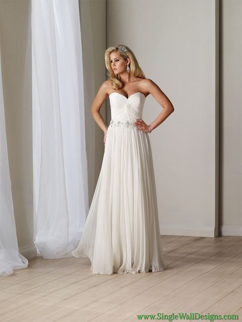 Chiffon Wedding Dress Pros And Conschiffon Beach Wedding Dress