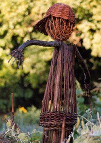 Scarecrow in the Vegetable Garden