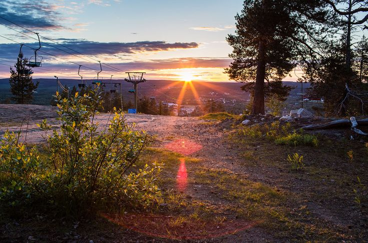 The only things that could keep you from seeing the Midnight Sun during the season in Rovaniemi are clouds -Rovaniemi, Lapland, Finland