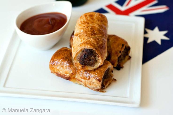 how to make aussie sausage rolls