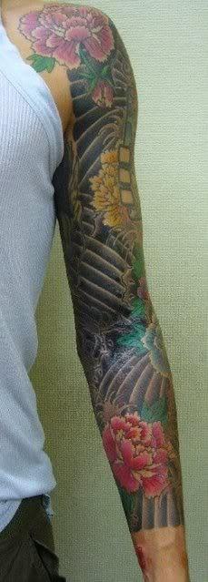 John Mayer's sleeve tat. Man, I love him.