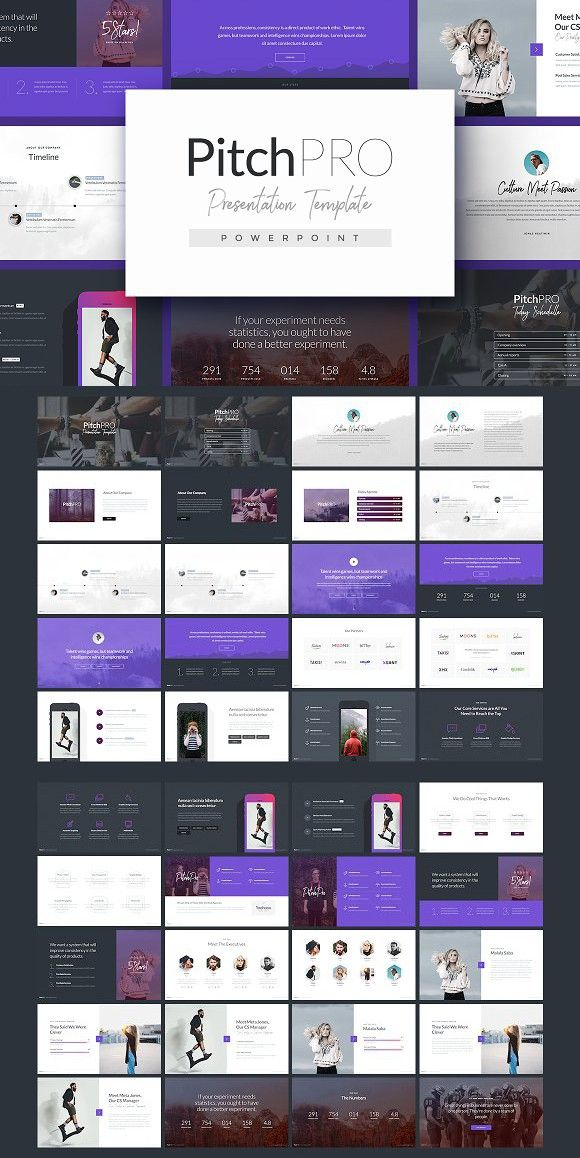 PitchPRO - Powerpoint Template. Presentation Templates