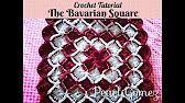 (3) How to make Bavarian #Crochet #Blanket Part 1 Tutorial #CrochetGeek - Caron Yarn Savannah Georgia - YouTube