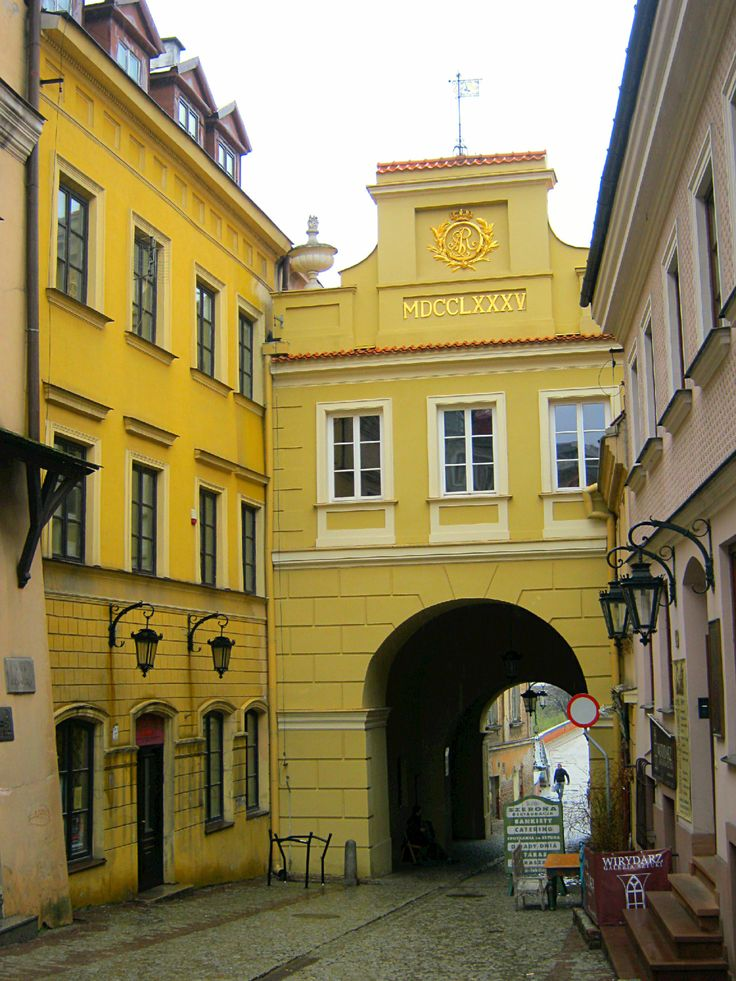 travelingcolors:  The Jewish Gate - Old Town Lublin | Poland (taken and posted by ericmahinay, check out this blog!)