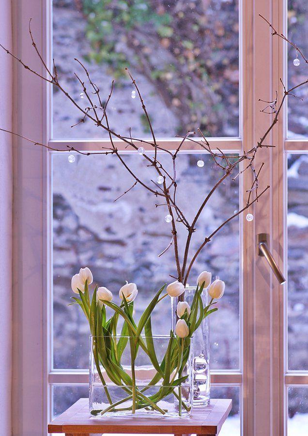 Die besten 25 tulpen in der vase ideen auf pinterest for Wohnung dekorieren im januar