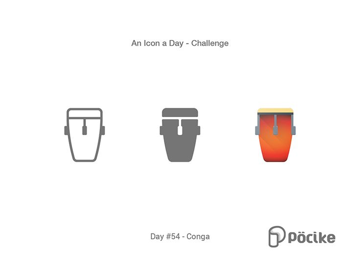 Icon Challenge Day 54 Conga