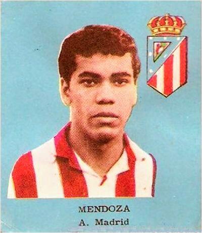 Jorge Mendoza of Atletico Madrid in 1962.