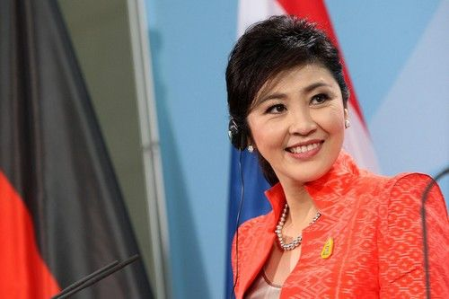 Yingluck Shinawatra, is a former Thai businesswoman and is the current Prime minister of Thailand. She is one of the youngest heads of state and Thailands' first female prime minister.