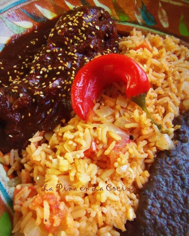 Mole de Pollo Mexicano-Chicken Mole
