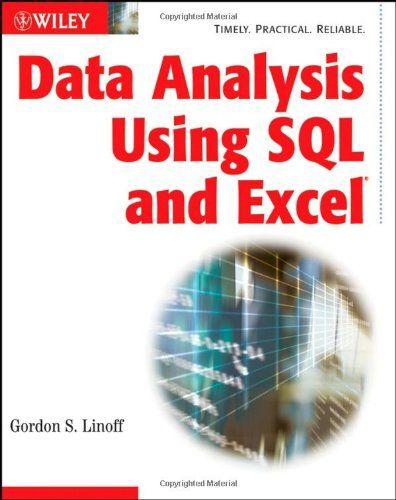 Bestseller Books Online Data Analysis Using SQL and Excel Gordon S. Linoff $31.16