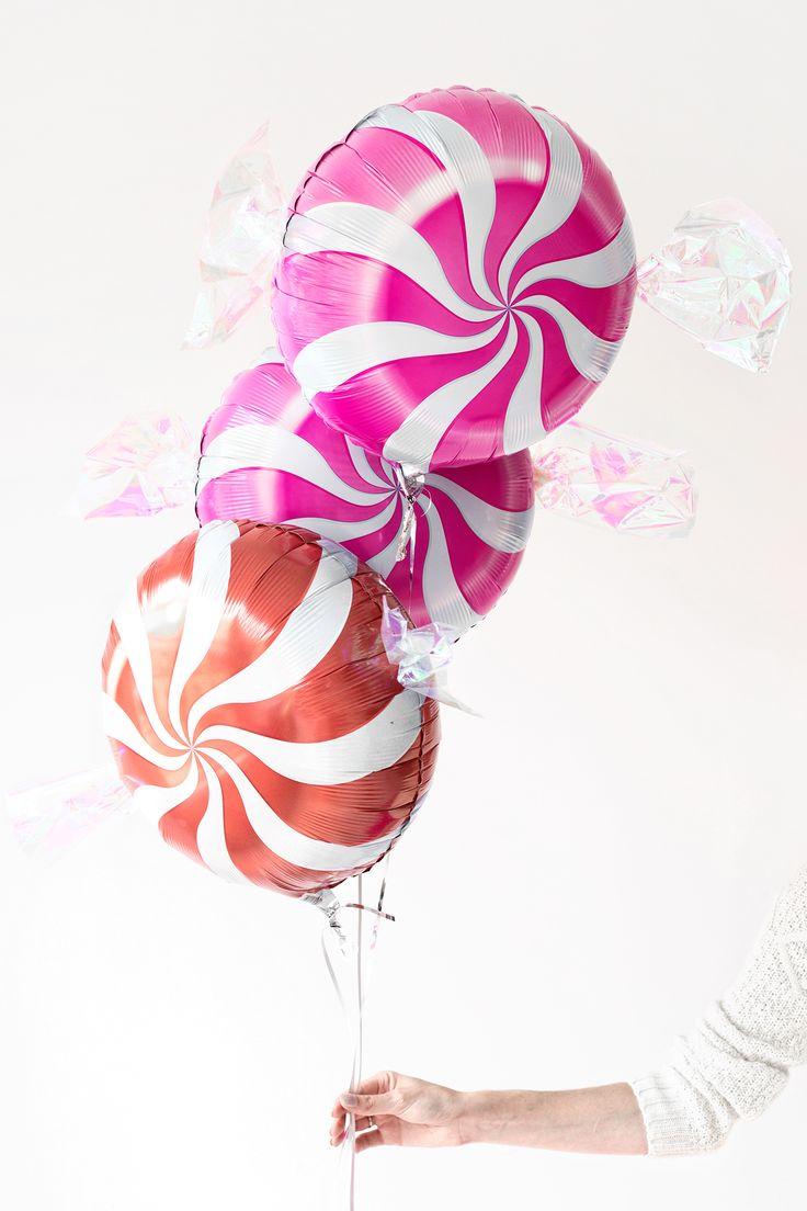 #DIY Peppermint Candy Balloons