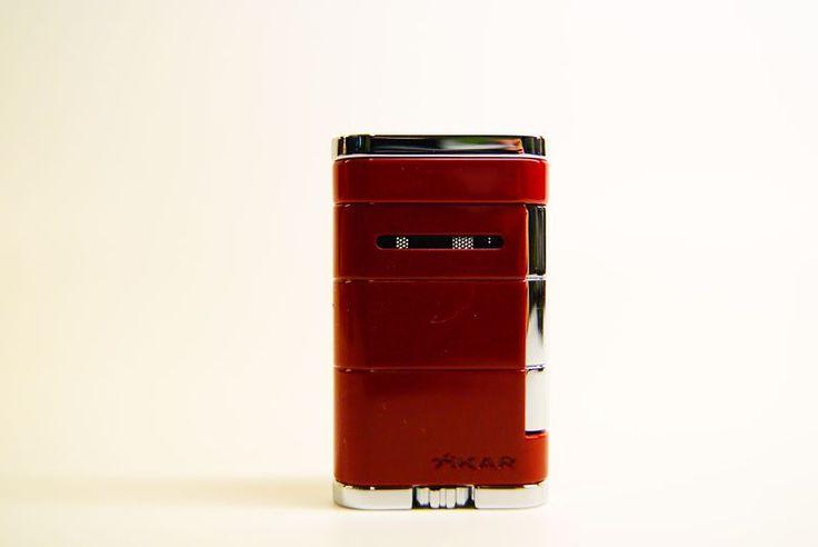 Accendini Jet Flame : Accendino jet flame xikar the Allume rosso - Tabaccheria Sansone - Pipe Tabacco Sigari - Accessori per fumatori