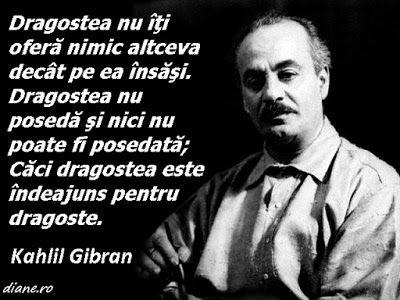 diane.ro: Kahlil Gibran despre dragoste
