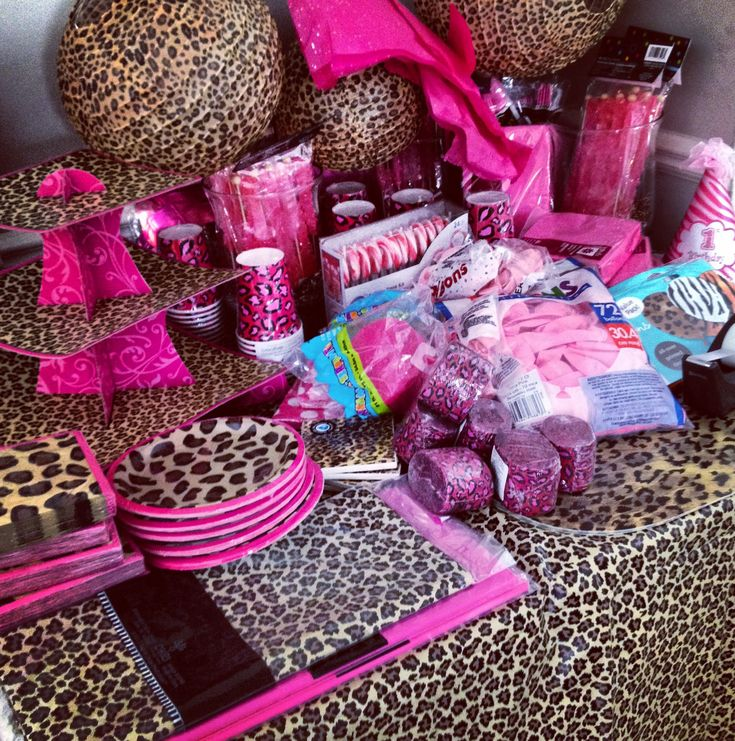 So You Have Decided On A Leopard Baby Shower For Your Party! Just A Few