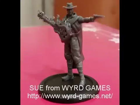 Sprue Grey TV - Unboxing and review of the Malifaux Outcast called Sue