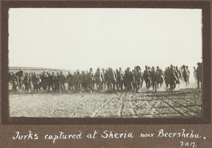 The Capture of Be'er Sheva by the Australian Light Horsemen in 1917 -- Arguably the Most Important Battle of WWI in Palestine | Picture a Day