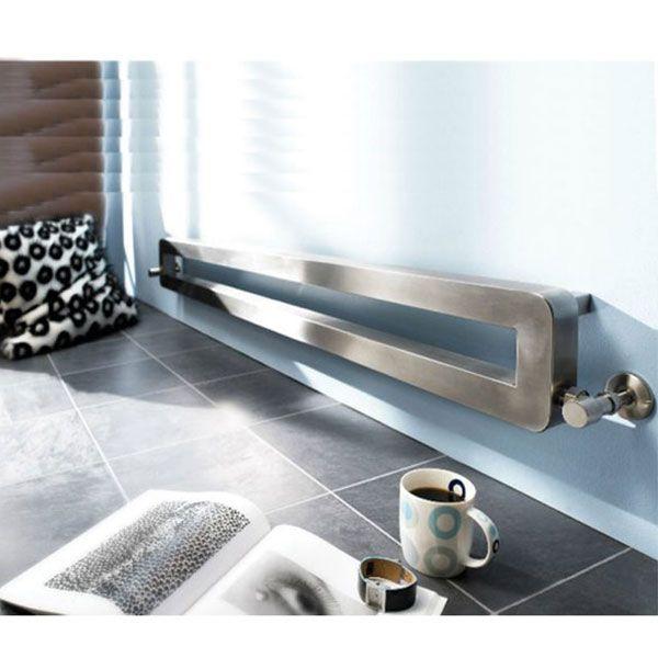 Vogue Vista Designer Heated Towel Rail 140mm H x 1000mm W Dual Fuel-0