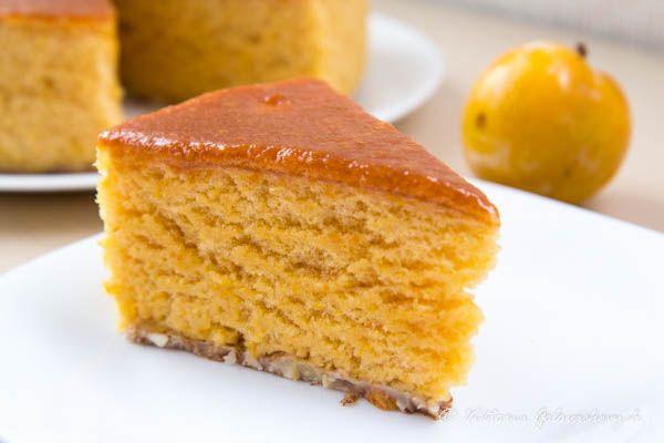 """Обыкновенное или сливовое чудо :) // plain or plum """"miracle"""" or """"wonder"""" cake/souffle"""