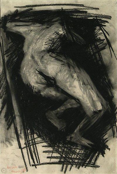 RCA 175 Years: Nude, Frank Auerbach