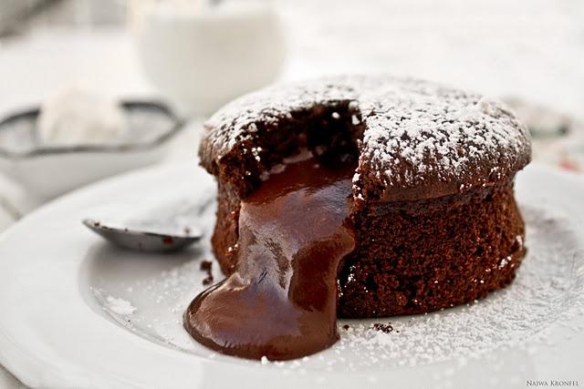 Chocolate Molten Cake! My favorite thing in the world!!!! YUMMM