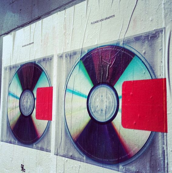"Kanye West - Yeezus' user-generated cover art ""please add graffiti"""