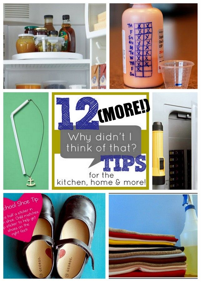 10 More Why Didn't I Think of That? Tips - Positively Splendid {Crafts, Sewing, Recipes and Home Decor}