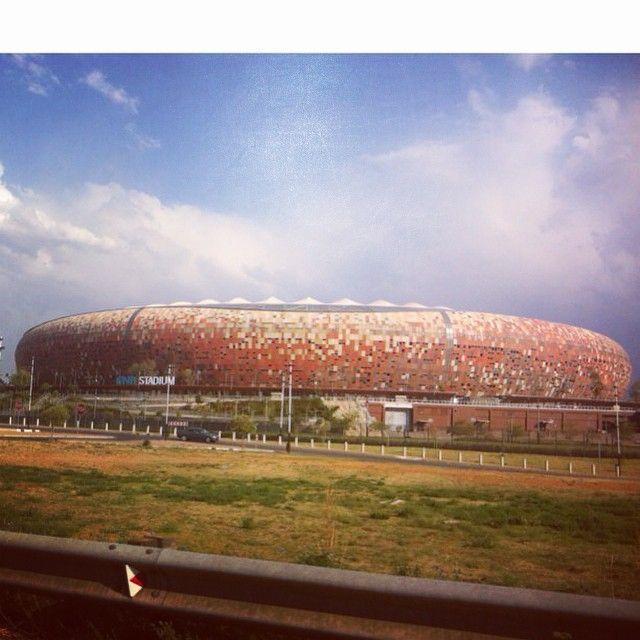 #Myjozi #fnbstadium #soccercity #jozi #johannesburg #calabash #iconic #landmark