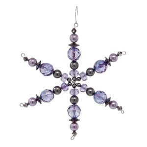 Lilac Frost Snowflake   Fusion Beads Inspiration Gallery