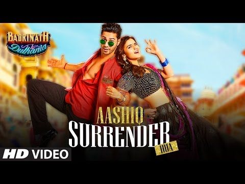Aashiq Surrender Hua Video Song  | Varun, Alia | Amaal Mallik, Shreya Ghoshal |Badrinath Ki Dulhania - YouTube