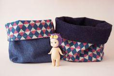 DIY panier en tissu - www.pinketcetera.com