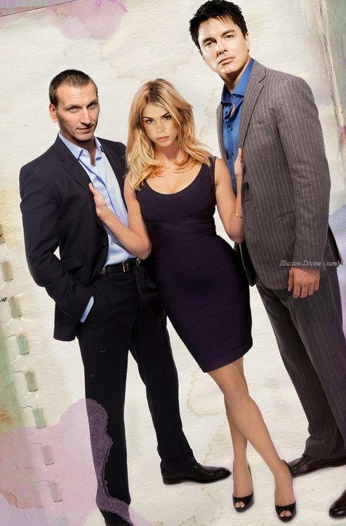 Doctor Who - Ninth Doctor, Rose Tyler & Jack Harkness