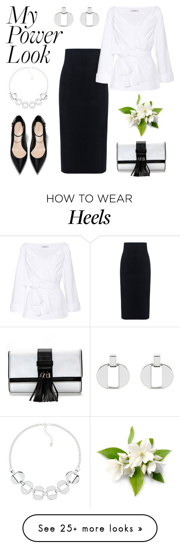"""My Power Look"" by kim-mcculley on Polyvore featuring 10 Crosby Derek Lam, Dorothee Schumacher, Monet and MyPowerLook"