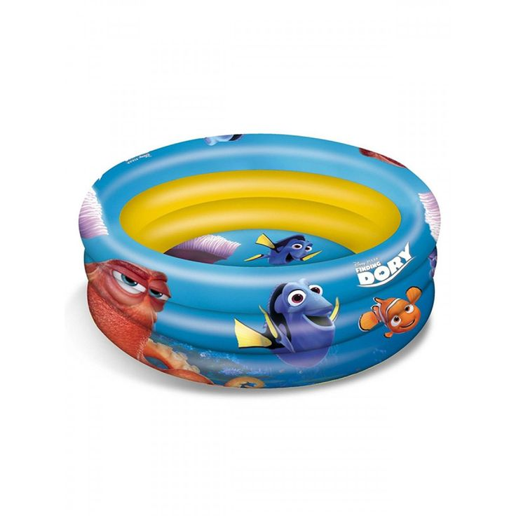 Get ready for Summer with this brilliant Finding Dory Paddling Pool and go for a paddle with some of your favourite Disney Pixar characters: Dory, Nemo and Hank!