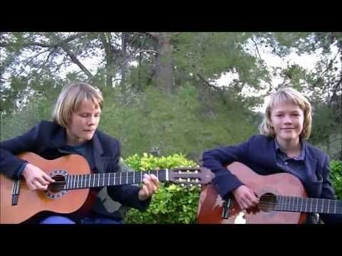 Happy Birthday to you on Classical Guitar - Duet