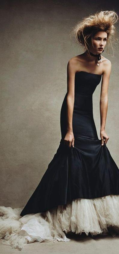 Solange Wilvert in Alexander McQueen by Patrick Demarchelier for Vogue