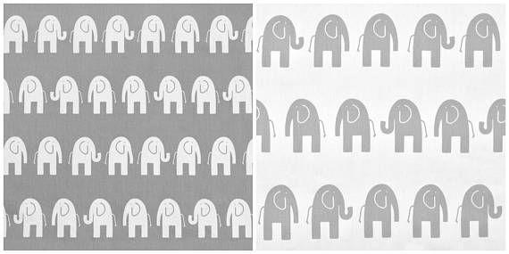 Grijze witte gordijnen olifant kinderkamer gordijn panelen Decor dierentuin dierlijke venster behandelingen Kinder kamer Play kamer gordijnen