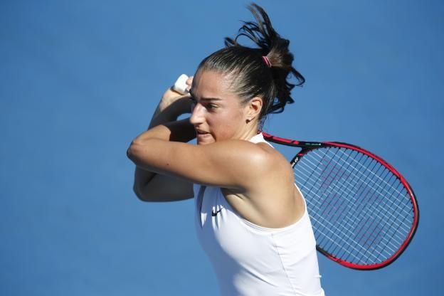 Tennis - Indian Wells - Caroline Garcia a été éliminée en huitièmes de finale à Indian Wells. (R.Martin/L'Equipe)