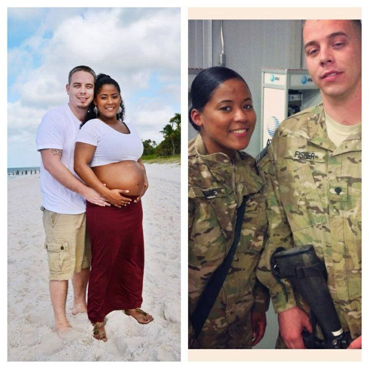 Couple interracial military picture nude