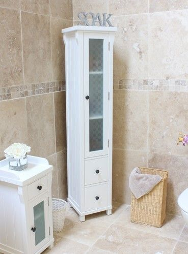 Baumhaus Hampton Closed Bathroom Unit Tall - CWR19E