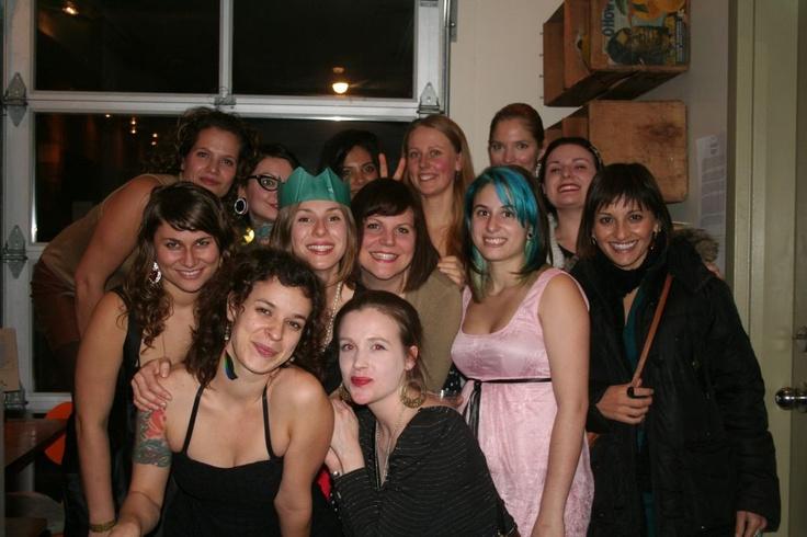 The Live Food Bar Ladies ; )