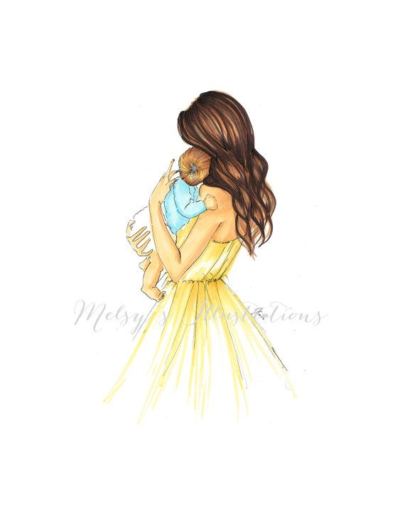Want this unframed, with glitter, any size. A Mother's Gift by Melsys on Etsy