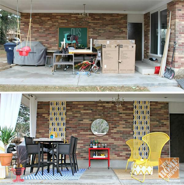 Backyard Transformation Before After: 38 Best Backyard Before And Afters Images On Pinterest