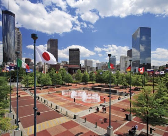 Atlantas Centennial Olympic Park Which Hosted The 1996 Games Is Always Looking For