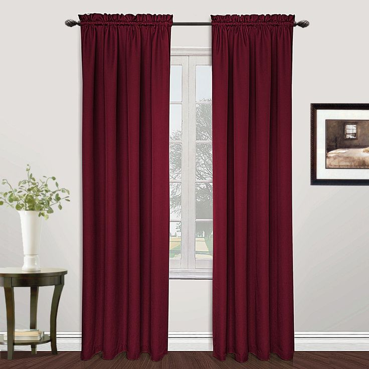 United Metro Curtain Panels (63 Burgundy), Red, Size 54 X 63 ( Part 39