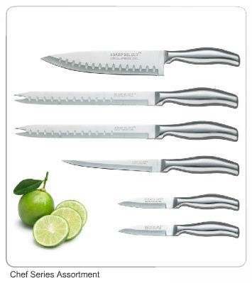 this is the sharp select chefu0027s knife set from hessler worldwide - Chef Knives Set
