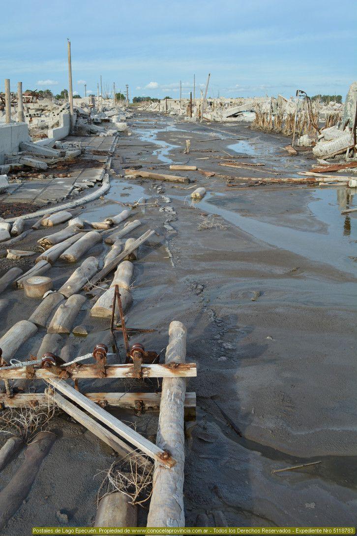 Imágenes de Lago Epecuén. Fotos actuales de Lago Epecuén, la ciudad inundada en 1985.Historia de Lago Epecuén.Dónde queda Lago Epecuén.Mapa de Lago Epecuén.