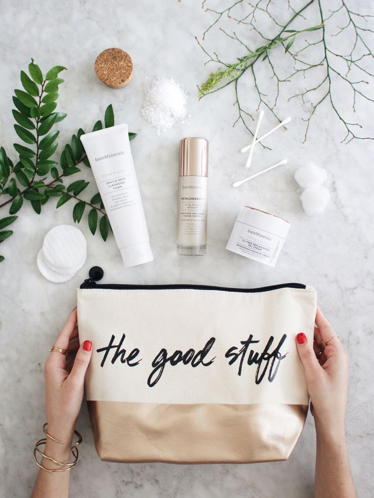 New Darlings - bareMinerals Skincare routine #skinsogood