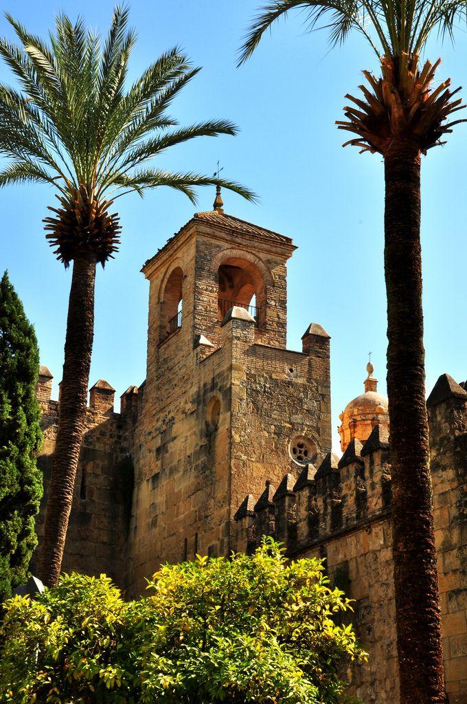 Torre del Homenaje, Alcázar of Cordoba, Spain   flickr